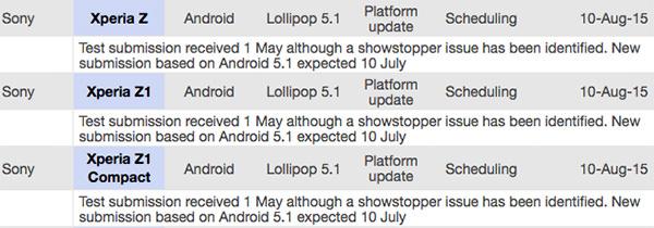Sony Xperia Z Serisine Ne Zaman Android 5.1 Güncellemesi Gelecek?