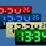 Digital ve analog saat ekran koruyucusu 2