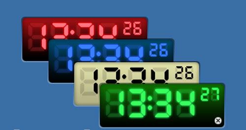 Digital ve analog saat ekran koruyucusu indir