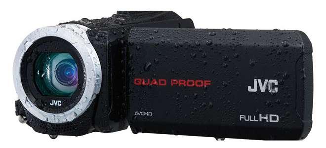 JVC Suya Dayanıklı İki Yeni Kamerasını Tanıttı
