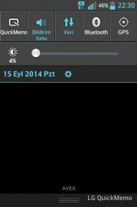 Quickmemo ekran görüntüsü