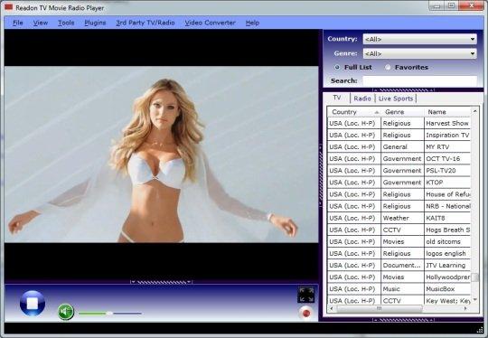 Readon Tv Movie Radio Player 7.6.0.0 full İndir