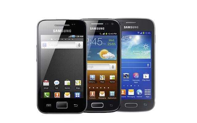Samsung Galaxy Ace Serisi ses artırma