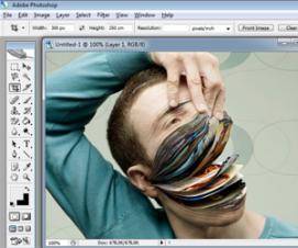 adobe photoshop cs2 mükemmel bir efekt