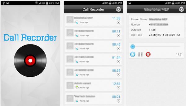 Android Arama Kaydedici Uygulaması
