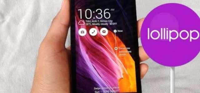 Asus En Sonunda Android 5.0 Güncellemesini Aldı