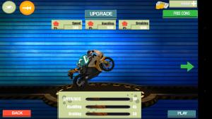 Android Çılgın Motor Sürücüsü Oyunu