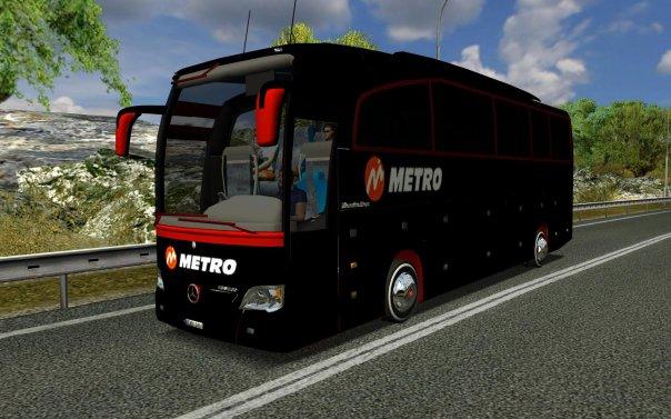 Euro Truck Simulator Otogarlı Otobüs Modu Türkçe indirmek için