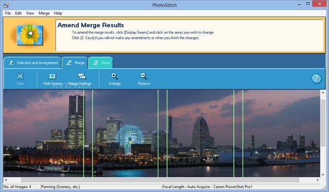 PhotoStitch indir – Panoramik Fotoğraf Birleştirme Programı