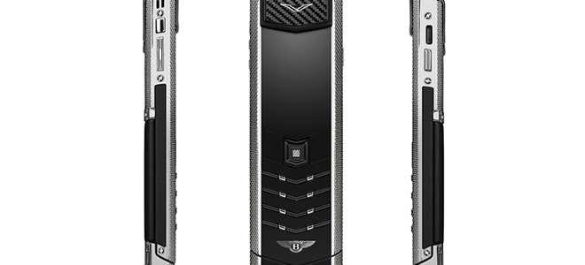 Bentley Sevdalıları Vertu'nun Yeni Telefonuna Hasta
