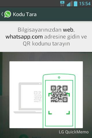 Whatsapp Web Qr Kodu Tarama Sorunu