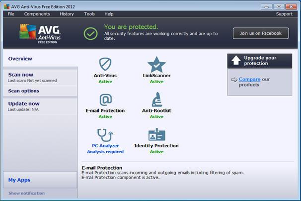 AVG Anti-Virus Free Edition indir