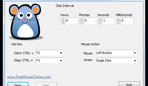 Free Mouse Clicker – Otomatik Fare Tıklama Programı
