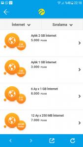 Turkcell Sarı Kutu Hediye İnternetler