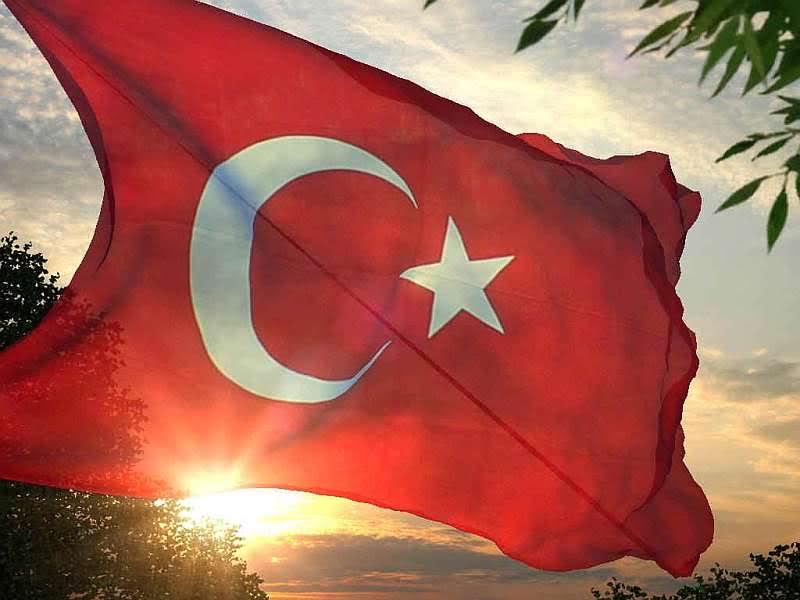 Türk bayrağı ekran koruyucusu indir
