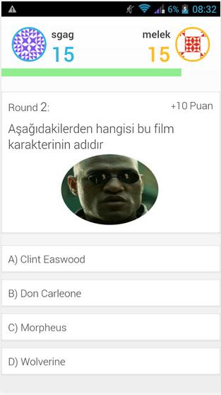 android online bilgi yarışması programı