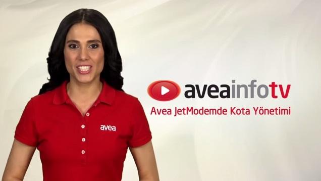 Avea Jet Modem'de kota bilgisi nasıl öğrenilir?