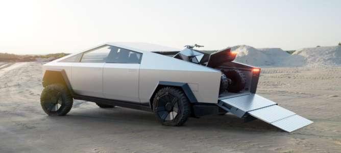 Geleceğin Arabası Tesla CyberTruck Görücüye Çıktı