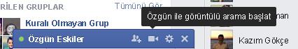 facebook görüntülü sohbet 1