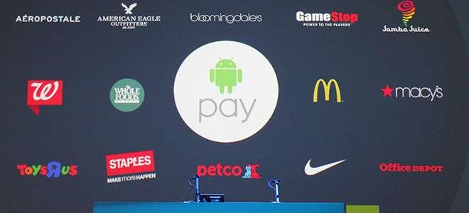 Yeni Mobil Ödeme Sistemi; Android Pay!