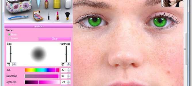 Göz Rengi Değiştirme Programı