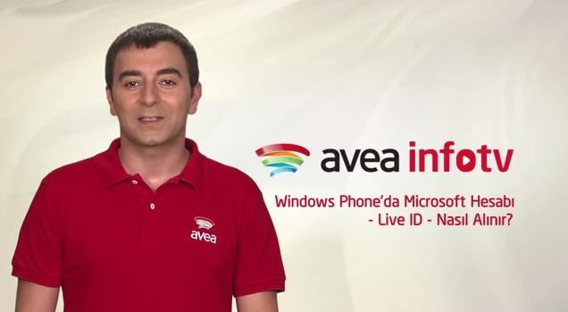 Windows Phone'da Kullanmak İçin Microsoft Hesabı Nasıl Alınır?