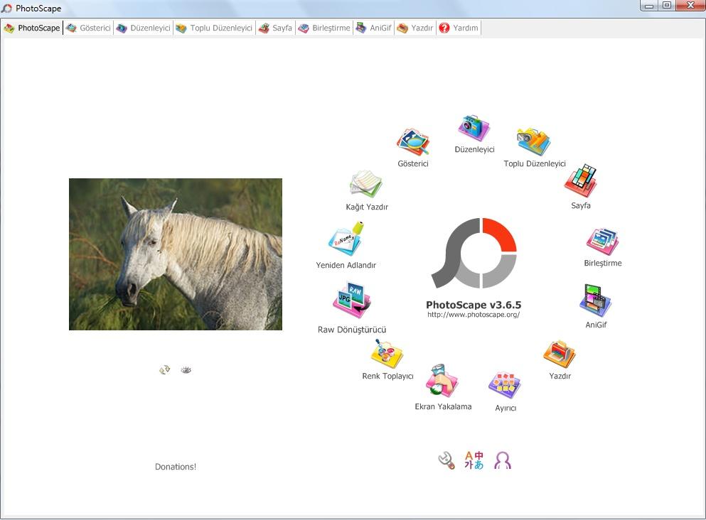 PhotoScape Resim Düzenleme Programı İndir