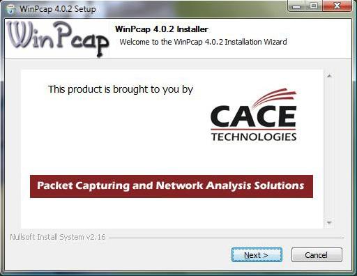 WinPcap indir